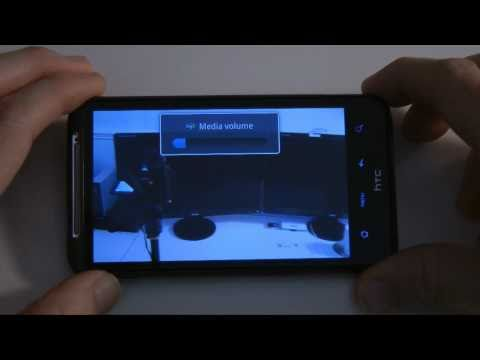 HTC Desire HD - Camera Features & HD Video Capture