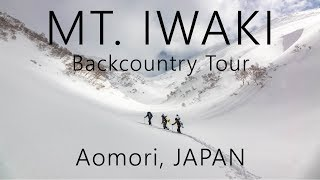 Backcountry Ski Tour on Mt. Iwaki in Aomori