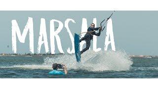 Kitesurfen in Marsala, Sizilien mit surfbude.de