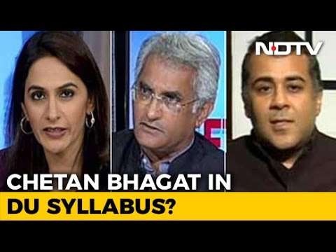 Chetan Bhagat In DU Syllabus: Pop Culture Or Literature?