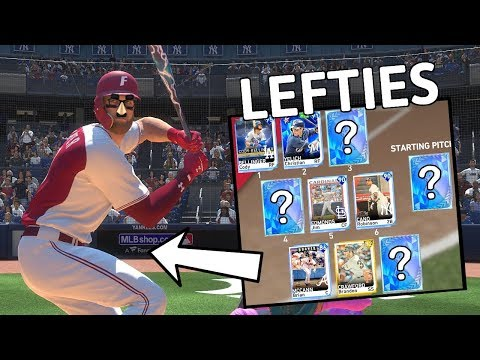 LEFTIES ONLY TEAM BUILD! GREATEST COMEBACK IN DIAMOND DYNASTY HISTORY? (MLB THE SHOW 19)