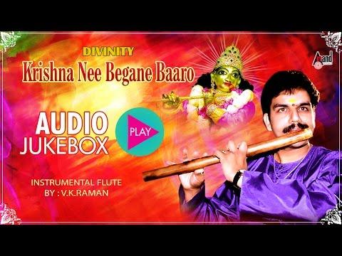 Krishna Nee Begane Baaro | Flute Instrumental | Flautist by : Raman