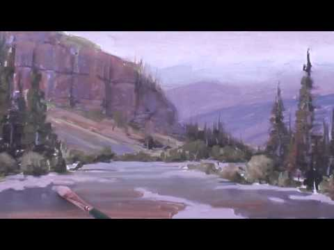 Painting Rocks Under Water, part 2