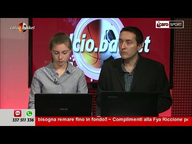 Icaro Sport. Calcio.Basket del 23 aprile 2018 - 4a parte