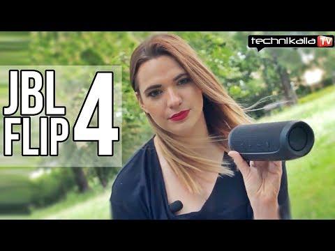 Głośnik przenośny JBL Flip 4 - test