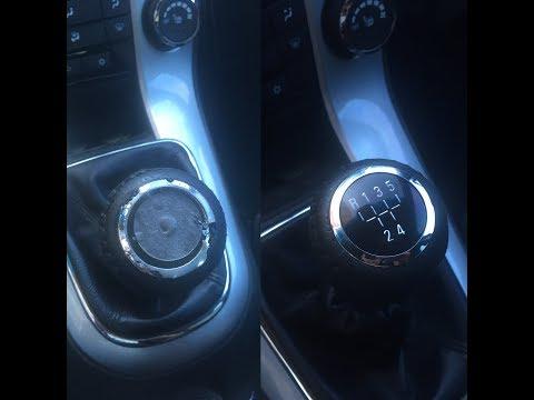 Замена хрома КПП Шеровле Круз(Chevrolet Cruze)