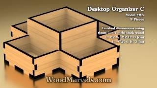 Desktop Organizer C: 3d Assembly Animation (1080hd)