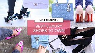 MY DESIGNER SHOES FOR SPRING | Sophie Shohet | Luxury Capsule Fashion