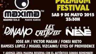 Maxima FM Premium Festival (Fabrik Madrid 09-05-2015) - (Promocion)