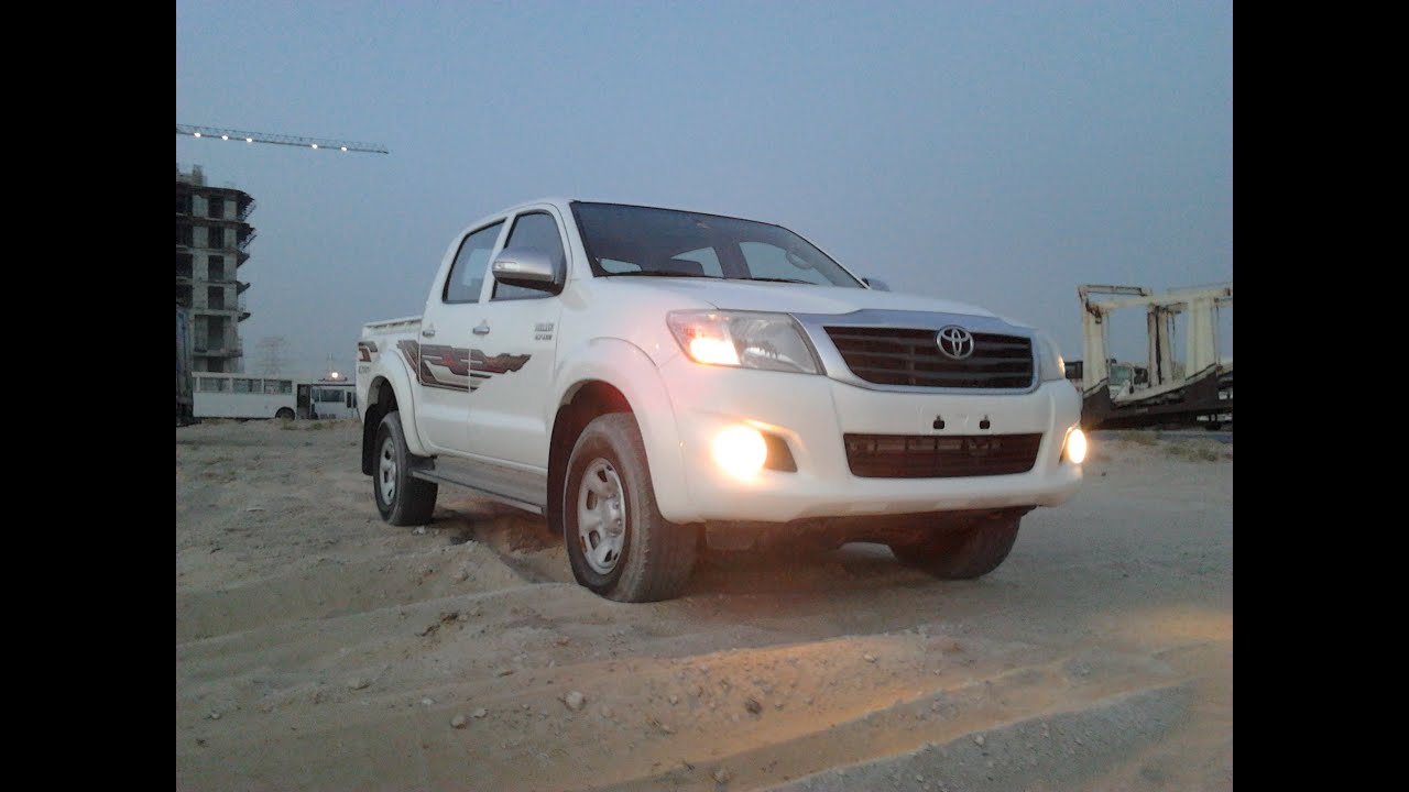 Toyota Hilux Double Cabin year 2013 In Dubai - YouTube