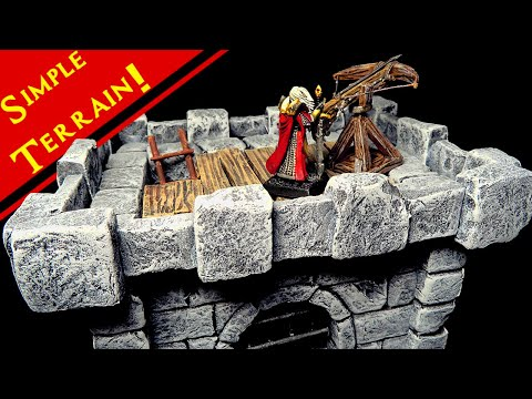 Crafting a Miniature Pyramid for D&D (Tabletop Terrain Tutorial)