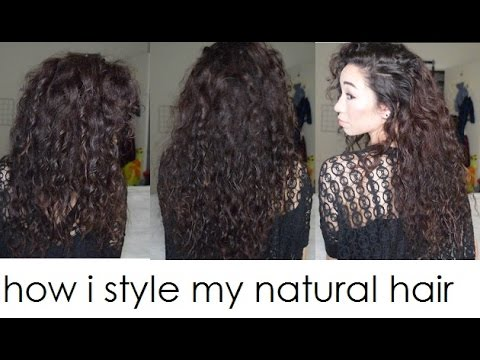 How I Style My Natural Asian Curly Hair Curl Type 2c 3a