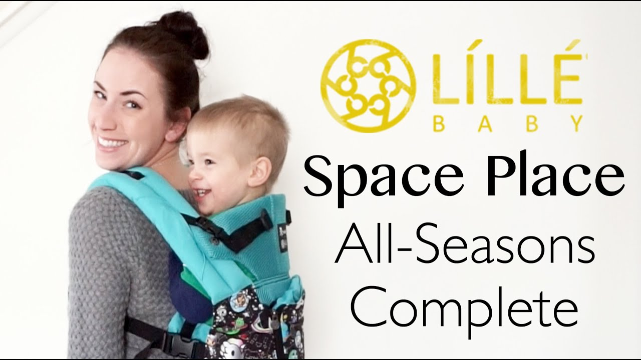 5e22c48b1a4 LÍLLÉbaby Space Place All-Seasons Complete Carrier  Unboxing + On The Body!