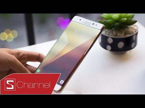 Schannel - Mở hộp Galaxy Note 7 bản thương mại chính hãng màu Gold: Hoàn hảo một tình yêu!