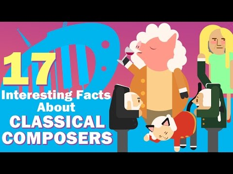 17 Interesting Facts About Classical Composers