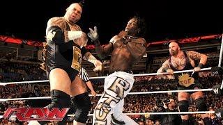 R-Truth & Xavier Woods vs. Tons of Funk: Raw, Dec. 2, 2013