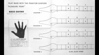 Play bass with the Phantom Surfers, Estrus Records ESP4, 1992