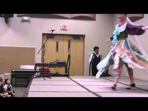 Las Vegas Nevada school assembly concert Russian dancer music