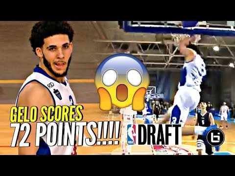 LiAngelo Ball SCORES 72 POINTS & DECLARES FOR NBA DRAFT In Lithuania!!!
