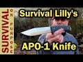 Survival Lilly Survival Knife - The APO-1 and YouTube Knife Designers