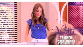 Violetta - Te Creo (Piano Extended Version) (Audio) [HD] (DOWNLOAD)