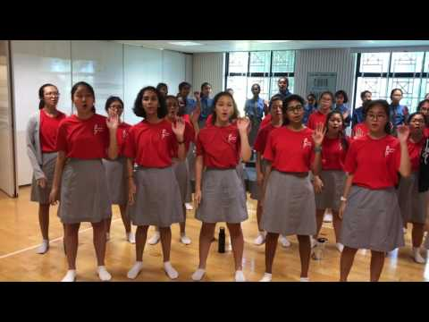 'One Singapore' NDP Song, Cedar Girls' Choir