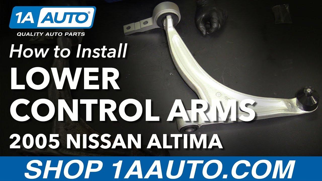 2013 Nissan Altima Rear Passenger Lower Control Arm 551A0 ...  |Nissan Altima Control Arm Replacement