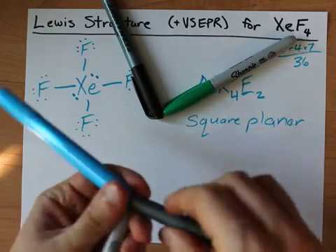 Lewis Structure Vsepr For Xef4 Youtube