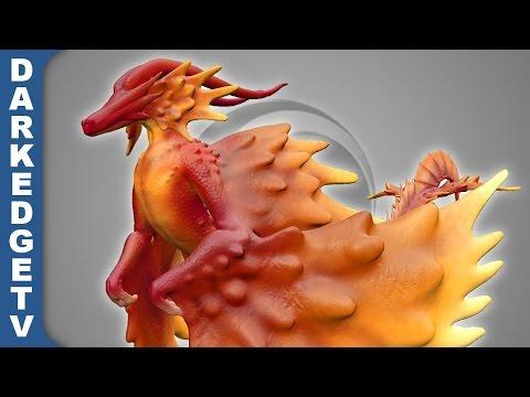 "Sculptris - ""Amorimic"" Spore Creature"