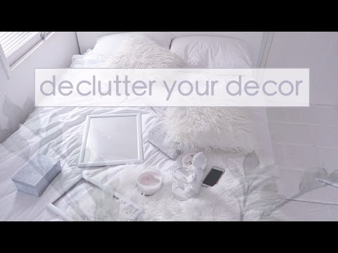 Declutter your Decor ☁ DAY 12 | Simplify your Life Challenge