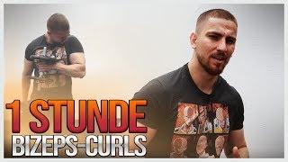 MOIS macht die 1 STUNDE Bizeps Curls CHALLENGE