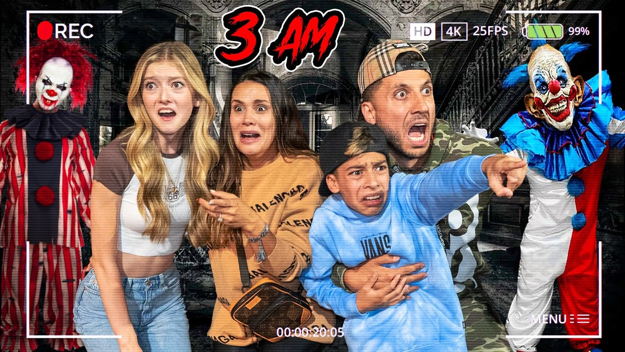 TRY NOT to SCREAM Challenge!! (SCARY HALLOWEEN MAZE) 🎃
