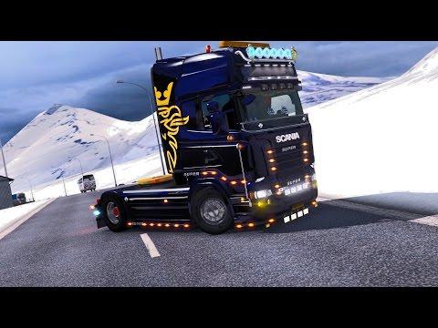 Greek Euro Truck Simulator 2 Bergen-Flensburg