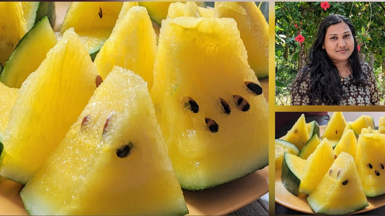 Tried Yellow Watermelon ||| Review||| ??? - YouTube