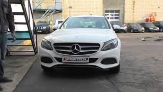 видео Чип тюнинг Mercedes C класс W204