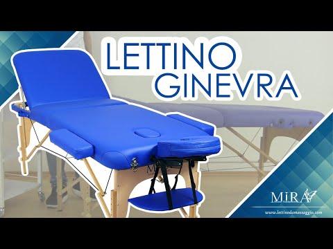 Lettino Massaggio Portatile San Marco.Lettino Da Massaggio Portatile Mira Youtube