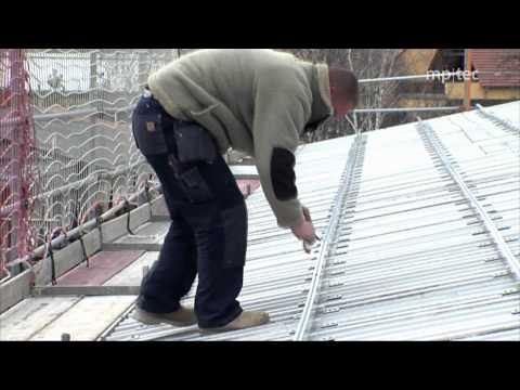 How to erect and mount a solar roof top plant: A reference project by mp-tec GmbH & Co.KG