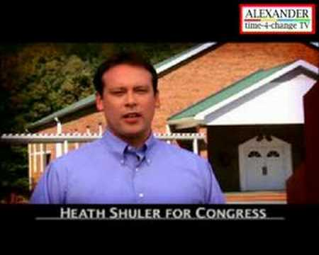 US Democrats - Heath Shuler, Mountain Values