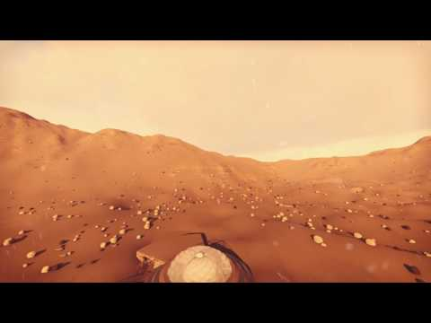 Tour video Space Architecture – Planetary Base on Mars