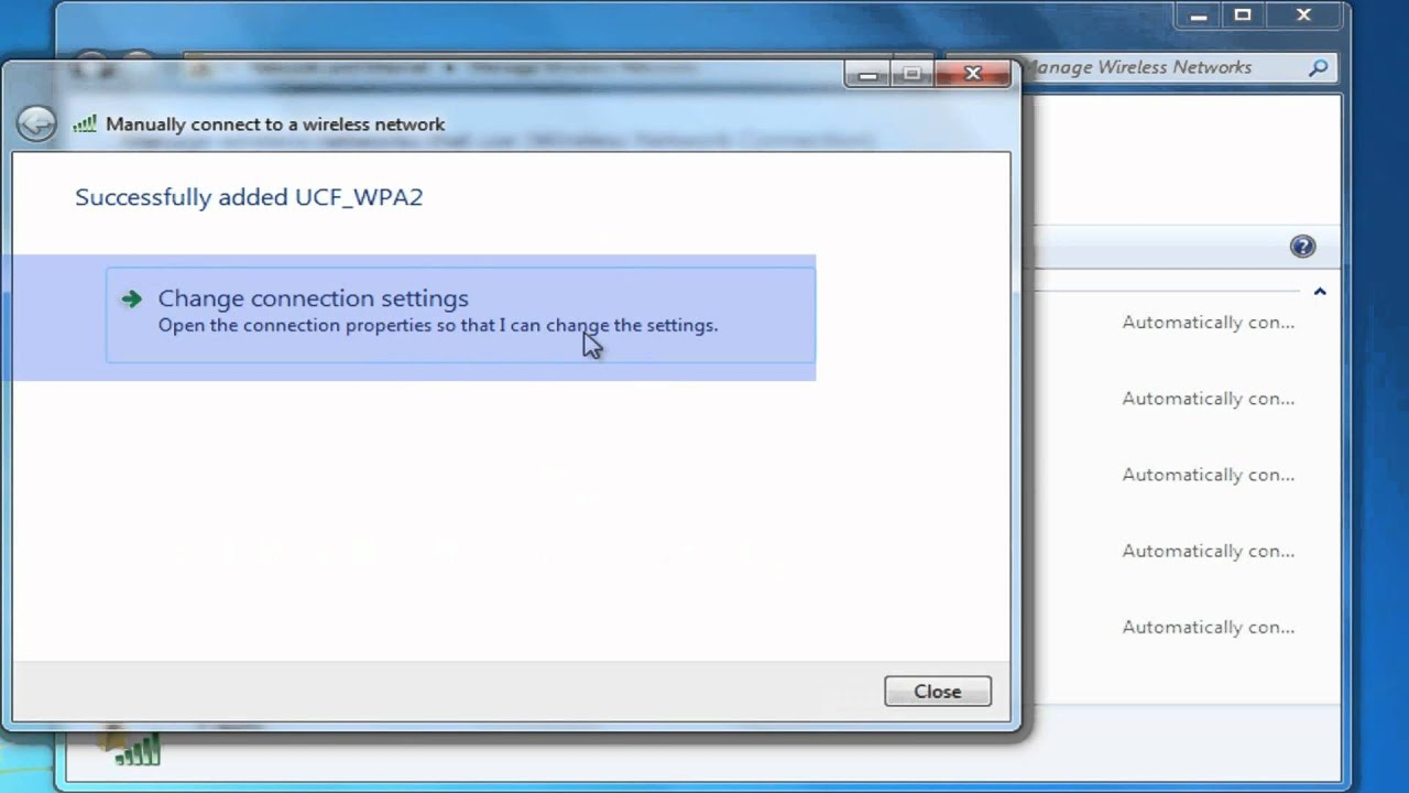 How to set up Wi-Fi in Windows 7 88