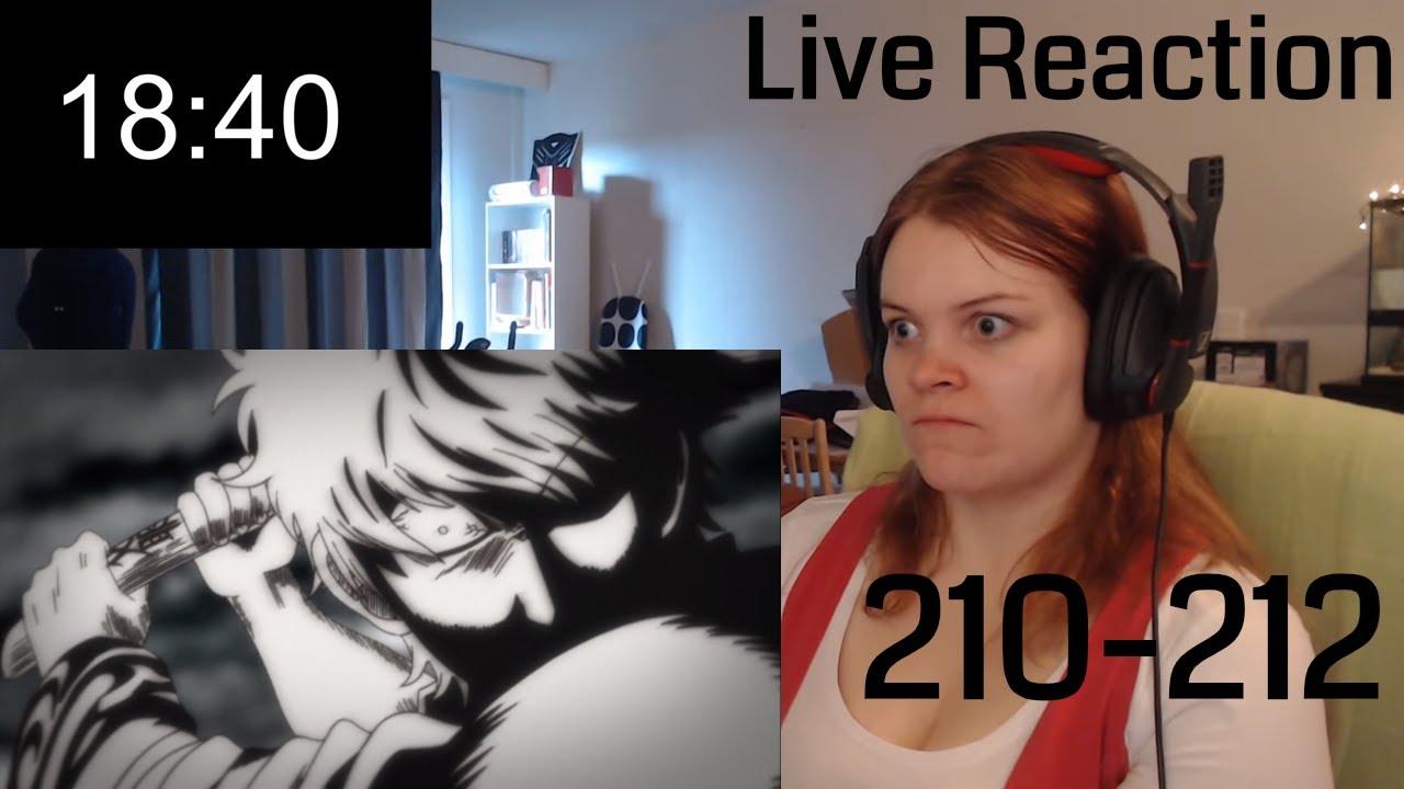 Live Reaction Gintama Episode 205 & 206 TRUE LOVE IS HARD
