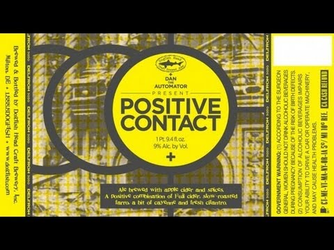 Dogfish Head Positive Contact  | Beer Geek Nation Craft Beer Reviews