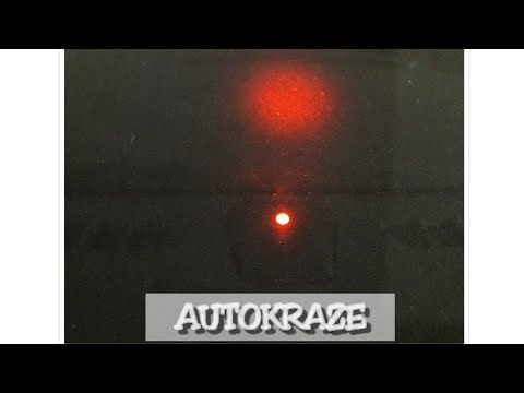 Autokraze: Blinking light on car console