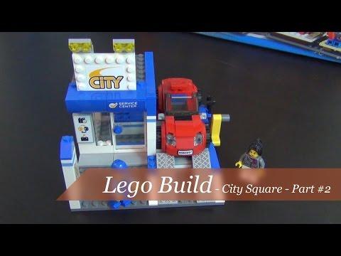 Let's Build - Lego City Square Set #60097 - Part 2