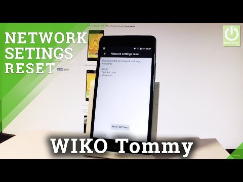 How to Reset Network Settings on WIKO Tommy - Restore Network Defaults HardResetInfo