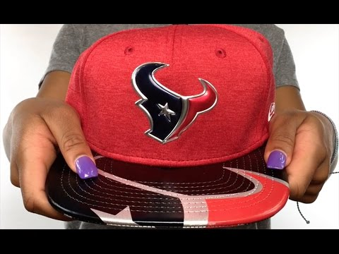 timeless design 42132 3e9a0 Texans  2017 NFL ONSTAGE SNAPBACK  Hat by New Era