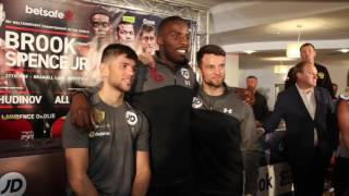 3 BROTHERS! - LAWRENCE OKOLIE, ANTHONY FOWLER & JOE CORDINA SET TO SHINE ON BROOK v SPENCE CARD