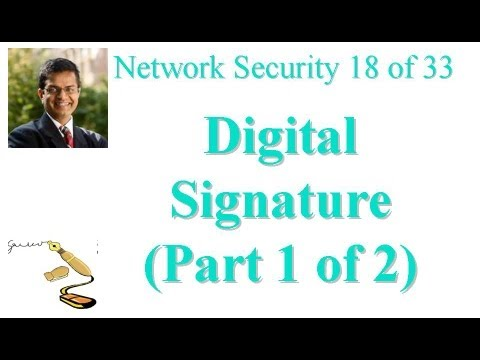 CSE571-11-13A: Digital Signature (Part 1 of 2)