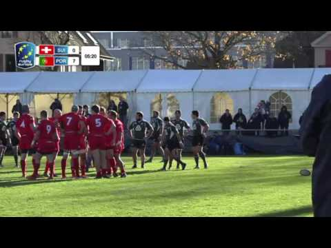 SWITZERLAND - PORTUGAL, Rugby Europe Trophy - 19.11.2016