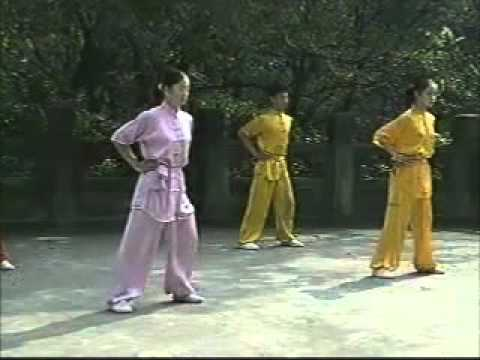 wushu basic training (English)